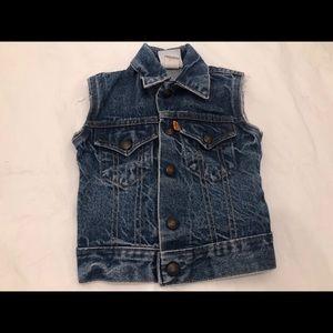 Vintage Little Levi's Denim Vest